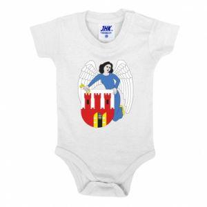 Baby bodysuit Torun coat of arms