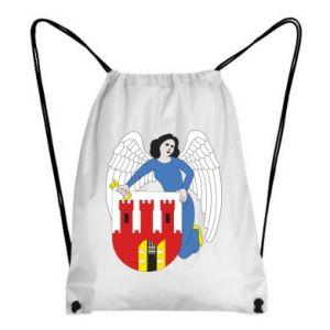 Backpack-bag Torun coat of arms