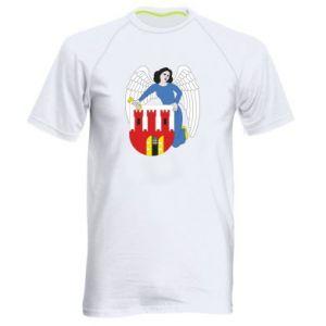 Men's sports t-shirt Torun coat of arms