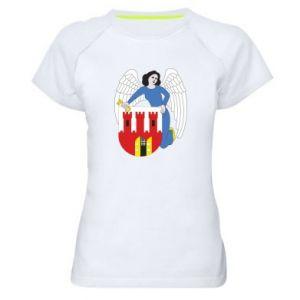 Women's sports t-shirt Torun coat of arms