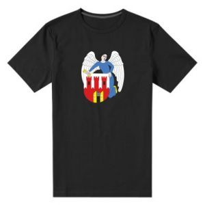Męska premium koszulka Toruń herb