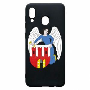 Samsung A30 Case Torun coat of arms