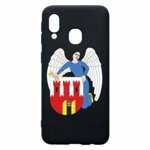 Samsung A40 Case Torun coat of arms