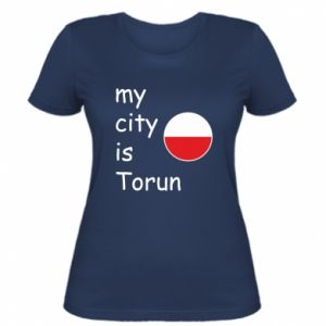 Women's t-shirt My city is Torun