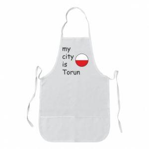 Apron My city is Torun