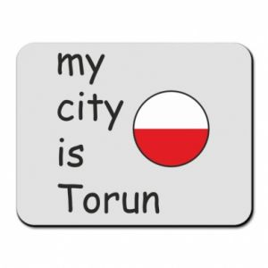 Mouse pad My city is Torun