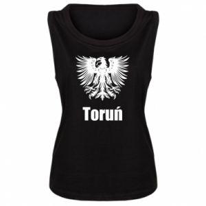 Damska koszulka bez rękawów Toruń
