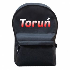 Backpack with front pocket Torun