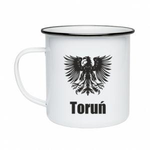Enameled mug Torun