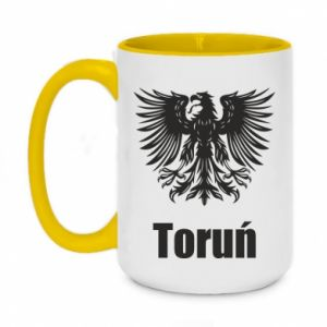 Two-toned mug 450ml Torun