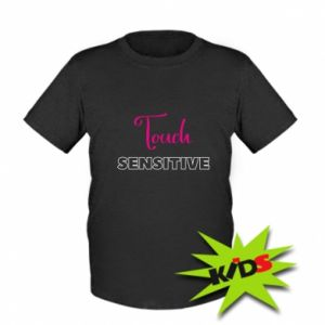 Dziecięcy T-shirt Touch sensitive