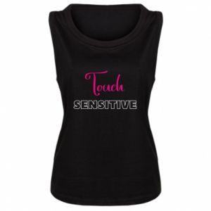 Damska koszulka bez rękawów Touch sensitive