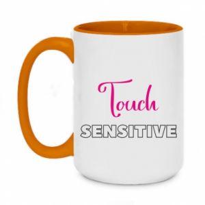 Kubek dwukolorowy 450ml Touch sensitive
