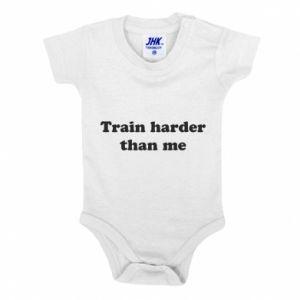 Body dziecięce Train harder than me