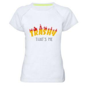 Koszulka sportowa damska Trashy it's me
