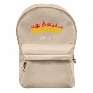 Plecak z przednią kieszenią Trashy it's me