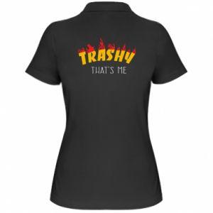 Koszulka polo damska Trashy it's me