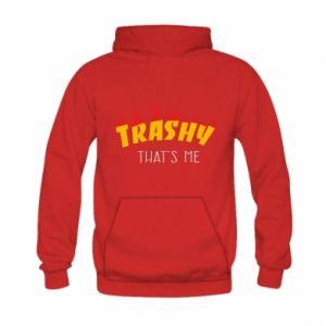 Bluza z kapturem dziecięca Trashy it's me