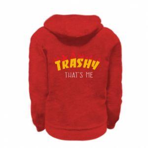 Bluza na zamek dziecięca Trashy it's me
