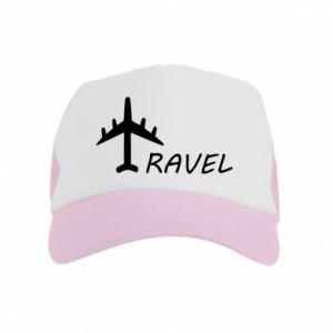 Kid's Trucker Hat Travel