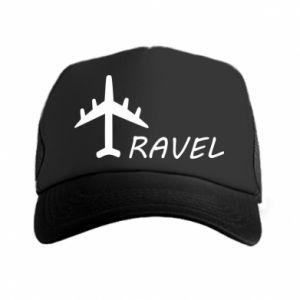 Trucker hat Travel
