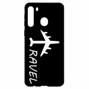 Samsung A21 Case Travel