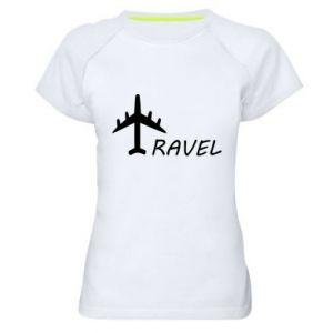 Women's sports t-shirt Travel