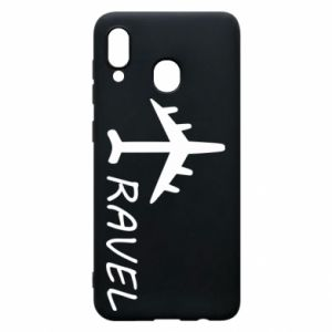 Phone case for Samsung A20 Travel