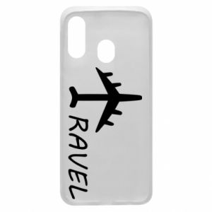 Phone case for Samsung A40 Travel