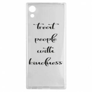 Etui na Sony Xperia XA1 Treat people with kindness