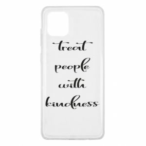 Etui na Samsung Note 10 Lite Treat people with kindness