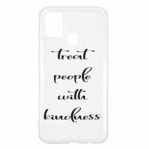 Etui na Samsung M31 Treat people with kindness