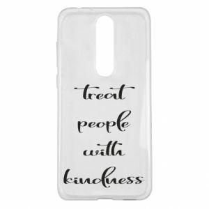 Etui na Nokia 5.1 Plus Treat people with kindness