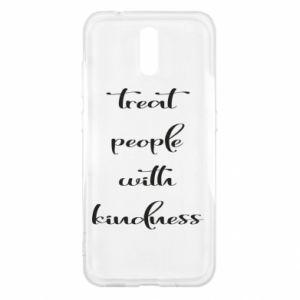 Etui na Nokia 2.3 Treat people with kindness