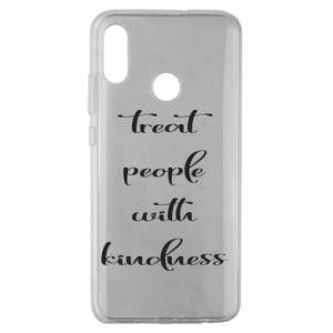 Etui na Huawei Honor 10 Lite Treat people with kindness