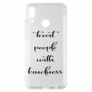 Etui na Huawei P Smart 2019 Treat people with kindness
