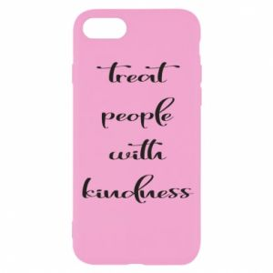 Etui na iPhone SE 2020 Treat people with kindness