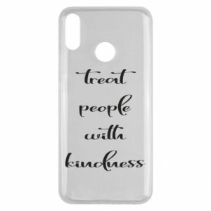 Etui na Huawei Y9 2019 Treat people with kindness