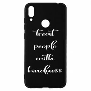 Etui na Huawei Y7 2019 Treat people with kindness