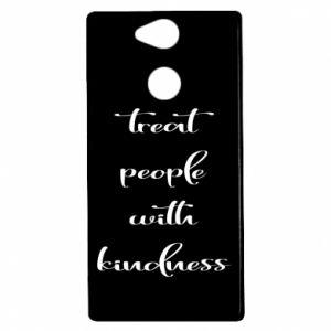 Etui na Sony Xperia XA2 Treat people with kindness