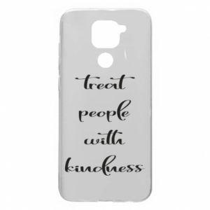 Etui na Xiaomi Redmi Note 9/Redmi 10X Treat people with kindness