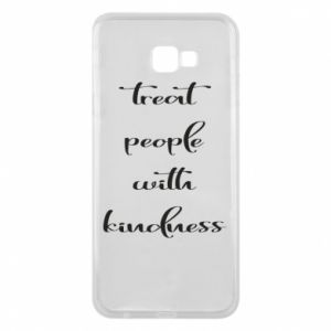 Etui na Samsung J4 Plus 2018 Treat people with kindness