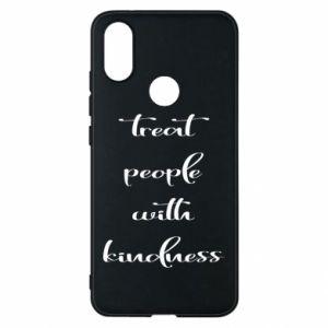 Etui na Xiaomi Mi A2 Treat people with kindness