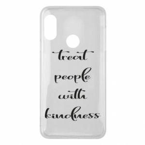Etui na Mi A2 Lite Treat people with kindness