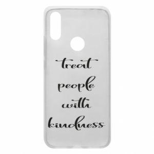 Etui na Xiaomi Redmi 7 Treat people with kindness
