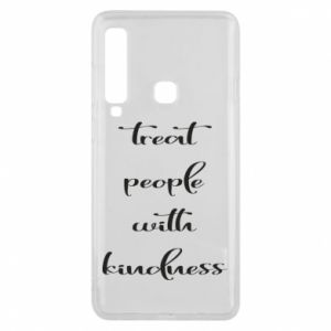 Etui na Samsung A9 2018 Treat people with kindness