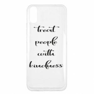 Etui na Xiaomi Redmi 9a Treat people with kindness