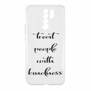 Etui na Xiaomi Redmi 9 Treat people with kindness
