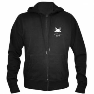 Men's zip up hoodie Treat - PrintSalon