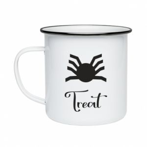 Enameled mug Treat - PrintSalon